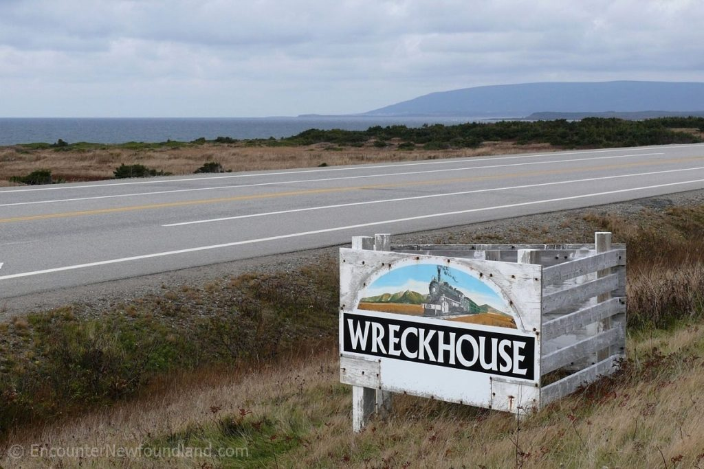 Wreckhouse sign
