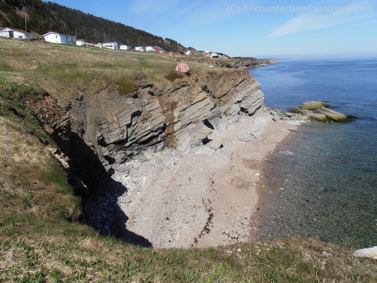 Cliffs at Port Aux Port Peninsula