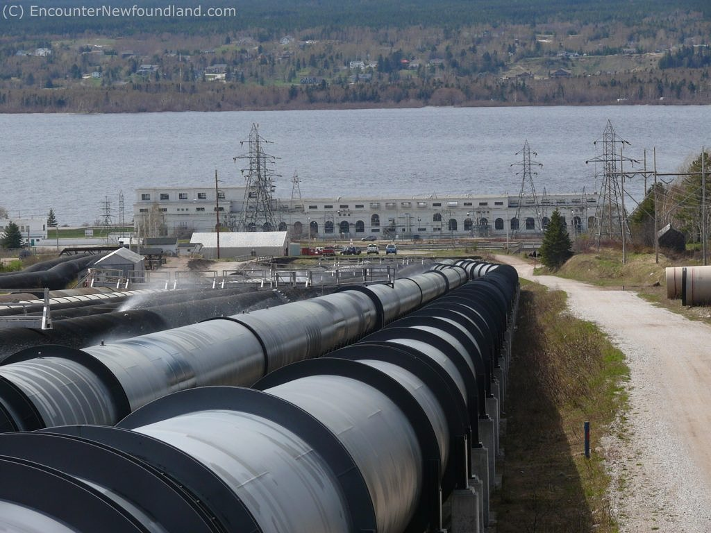 Deer lake Power Station and Penstocks