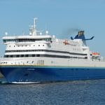 MV Atlantic Vision entering Port aux Basques