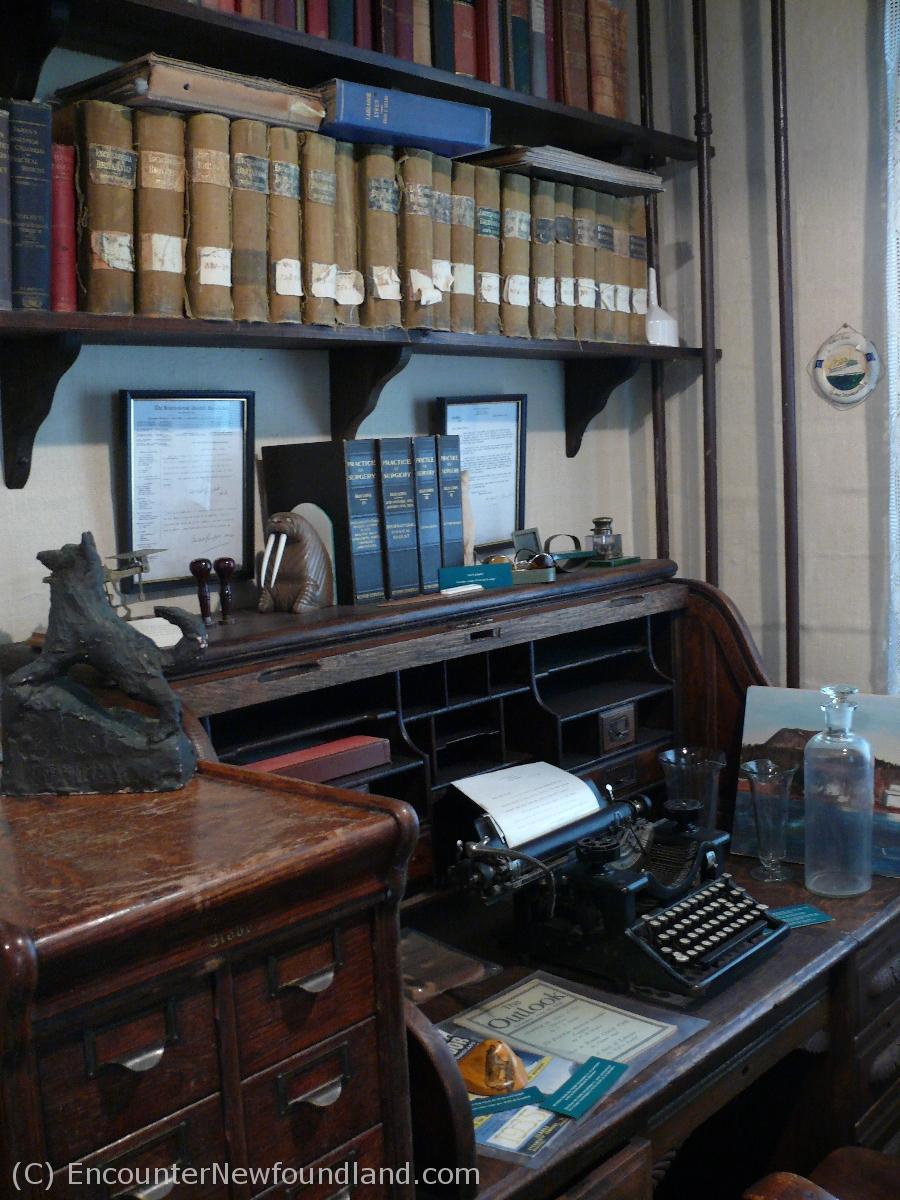 Dr. Grenfell's Office
