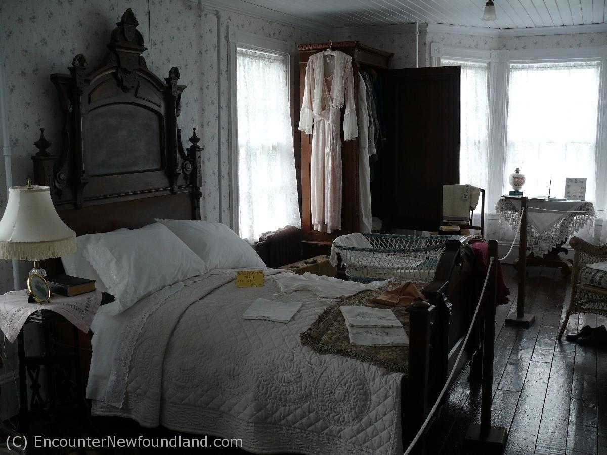 Grenfell House master Bedroom