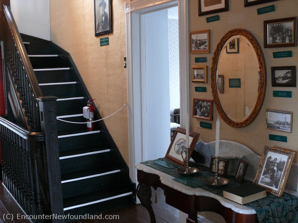 Upper hallway of Grenfell House