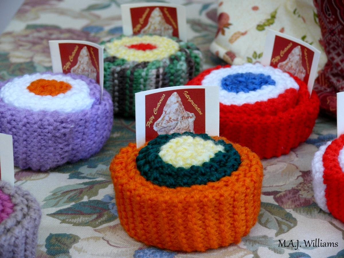 Handcrafted Yarn Cupcakes