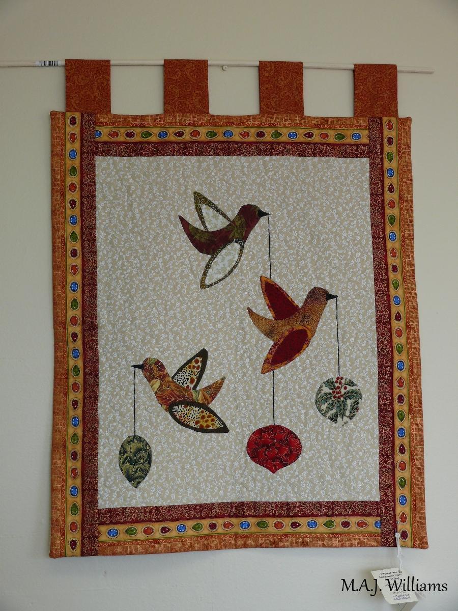Hand-sewn Wall Hanging