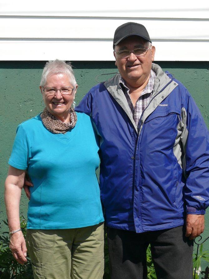 Bob and Lydia Mesher