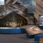 Port au Choix Visitor Center display