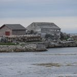 Fishing stage in Deadman's Cove, Newfoundand