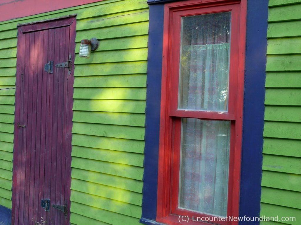 Multi-colored house