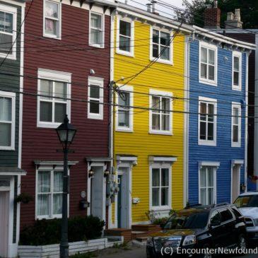 Jellybean Row: The Color of St. John's